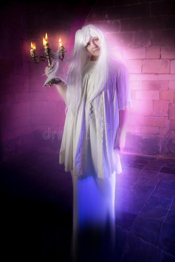 Sonâmbulo ou fantasma fotografia de stock royalty free