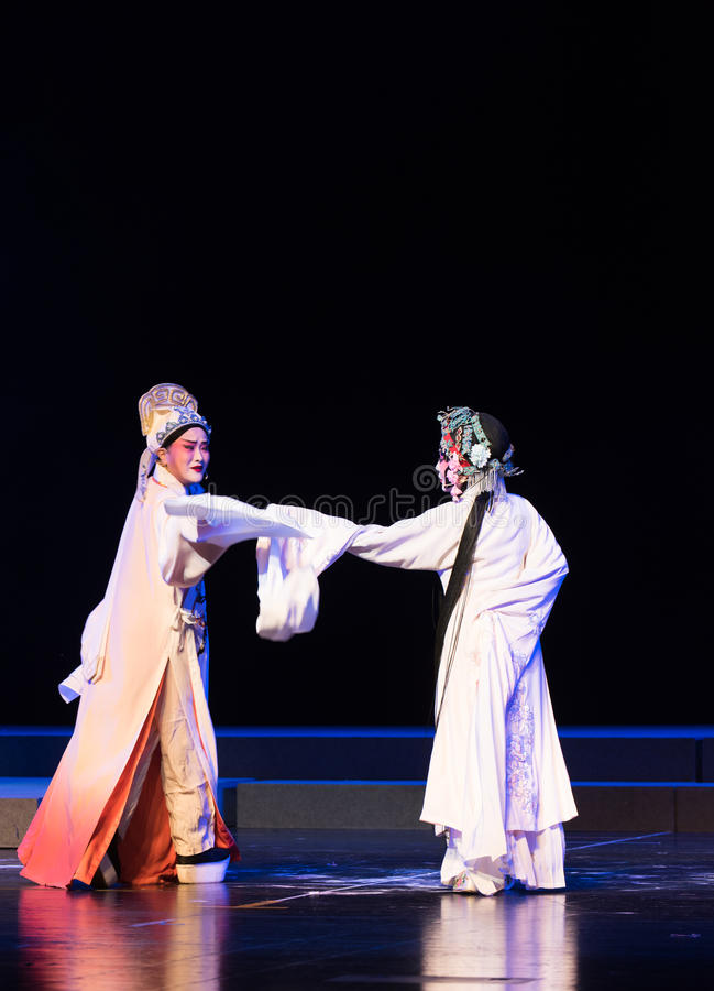 """Son amour-disque destiné des rêves du sud d'opera""""four de Branche-Jiangxi de  de linchuan†images stock"""