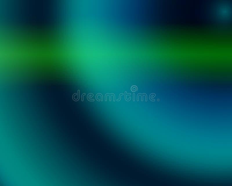 Son bleu illustration de vecteur