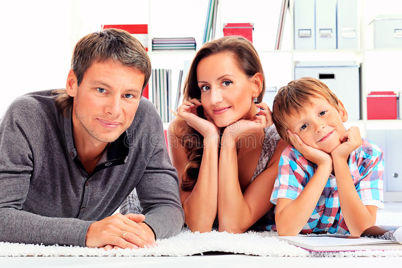 Son parents royalty free stock photo