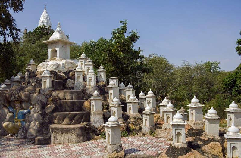 Sonagiri - Bundelkhand - Madhya Pradesh - l'India fotografie stock libere da diritti