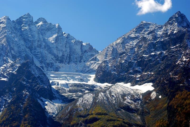 sonamarg гор Индии Кашмира стоковое изображение rf