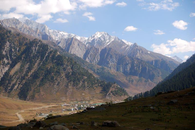 sonamarg гор Индии Кашмира стоковые фотографии rf