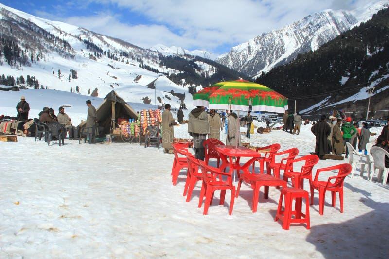 Sonamarg In Kashmir. royalty free stock photos
