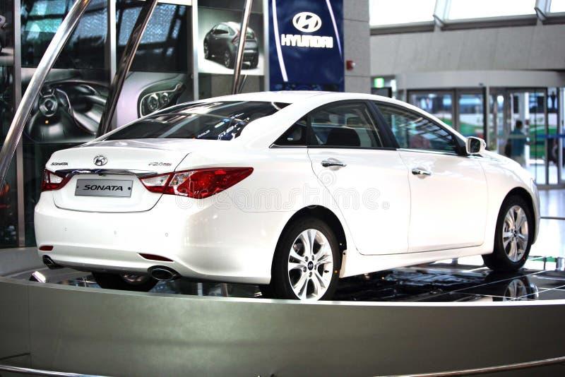 Sonata 2011 Hyundai fotografia stock
