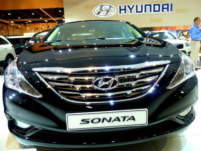 Sonata de Hyundai fotografia de stock