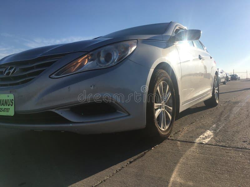 Sonata 2011 de Hyundai imagem de stock royalty free