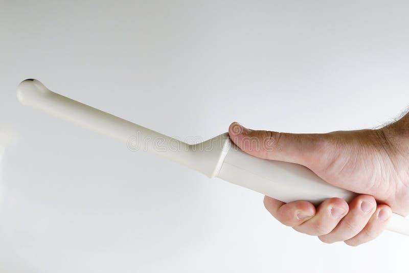 Sonda endocavital vaginale di ultrasuono di ginecologia fotografie stock libere da diritti