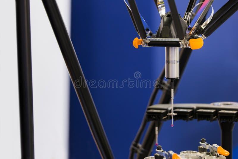 Sonde infrarouge pour les pièces de mesure photographie stock