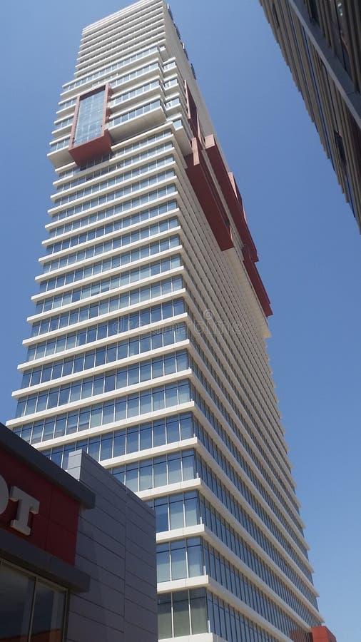 Sonderbares Gebäude lizenzfreie stockfotos