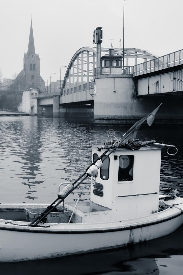 Sonderborg hamn (3), Danmark arkivbilder