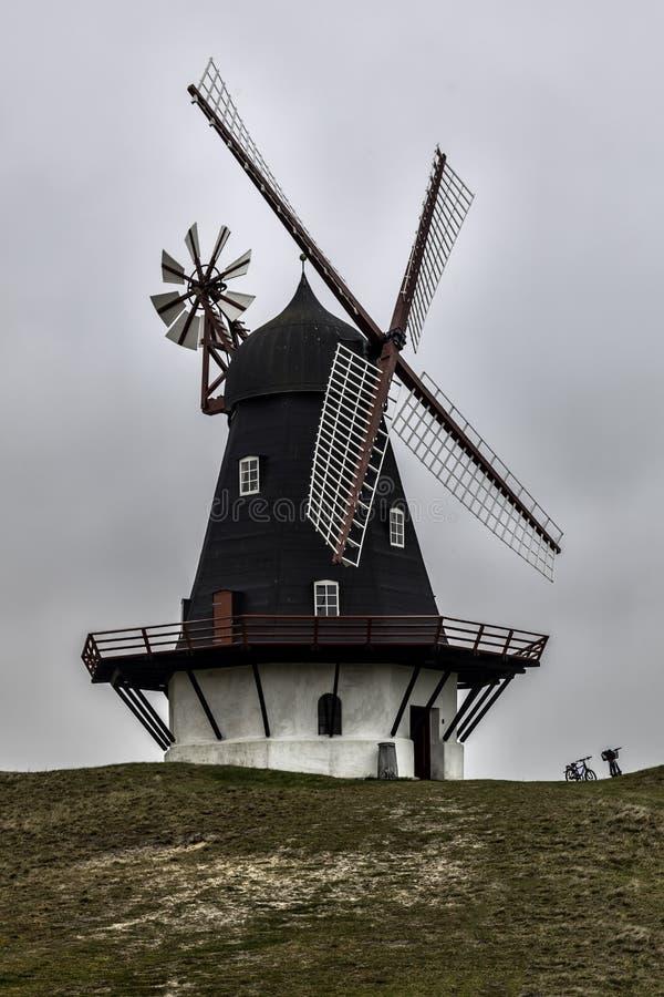Sonderho wiatraczek na Fano w Dani obraz royalty free
