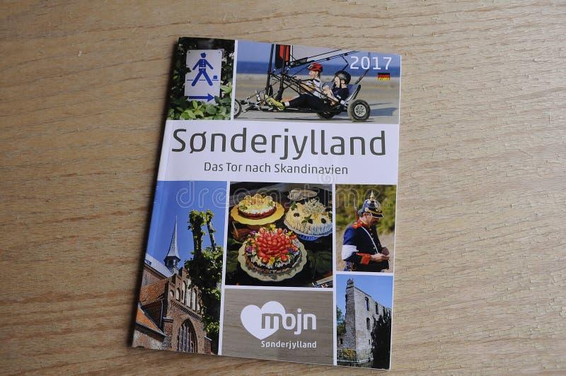 SONDERJYLLAND katalog W NIEMCY języku zdjęcie stock