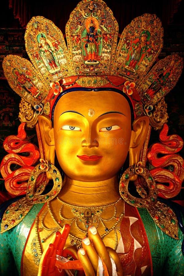 Sonderkommando des Buddha-Kopfes stockfotos
