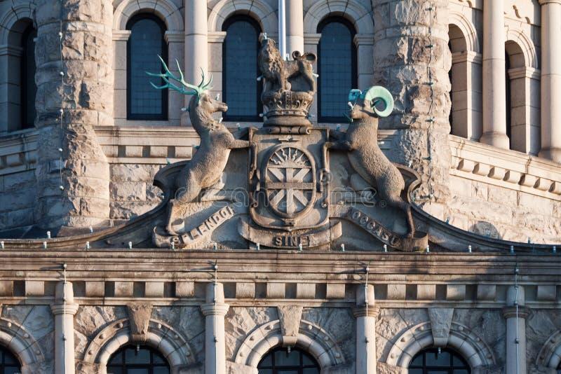 Sonderkommando des Parlaments Victoria Kanada lizenzfreie stockfotografie