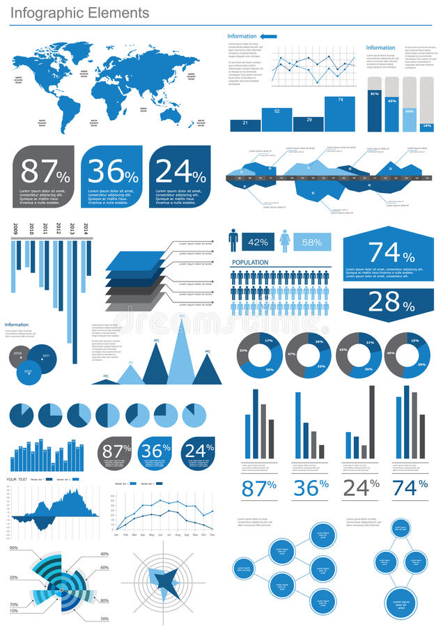 Sonderkommando infographic stock abbildung