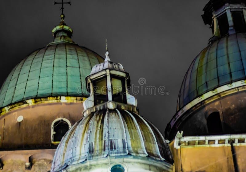 Sonderkommandos des schönen Trevisos Die historische Mitte der Stadt, noch eingeschlossen durch Renaissancewände, behält in große lizenzfreie stockfotografie