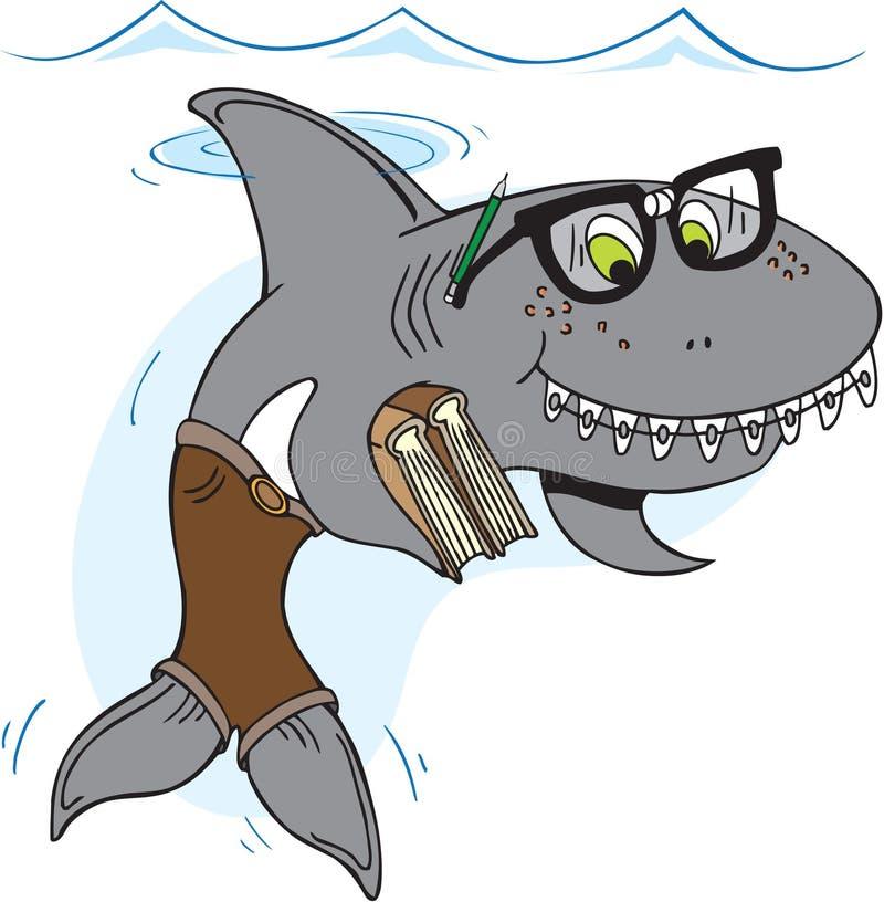 Sonderling-Haifisch stock abbildung