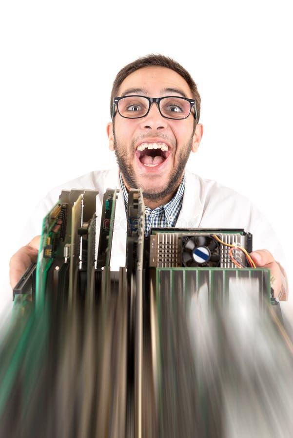 Sonderlingsingenieuraufstellung lizenzfreie stockbilder