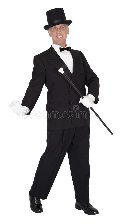 Song and Dance Man, Tap Dancer, Dancing, Isolated royalty free stock photos