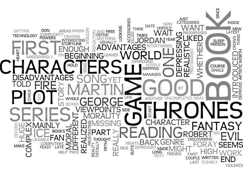A Song Of Ice And Fire A Game Of Thrones Word Cloud vector illustration