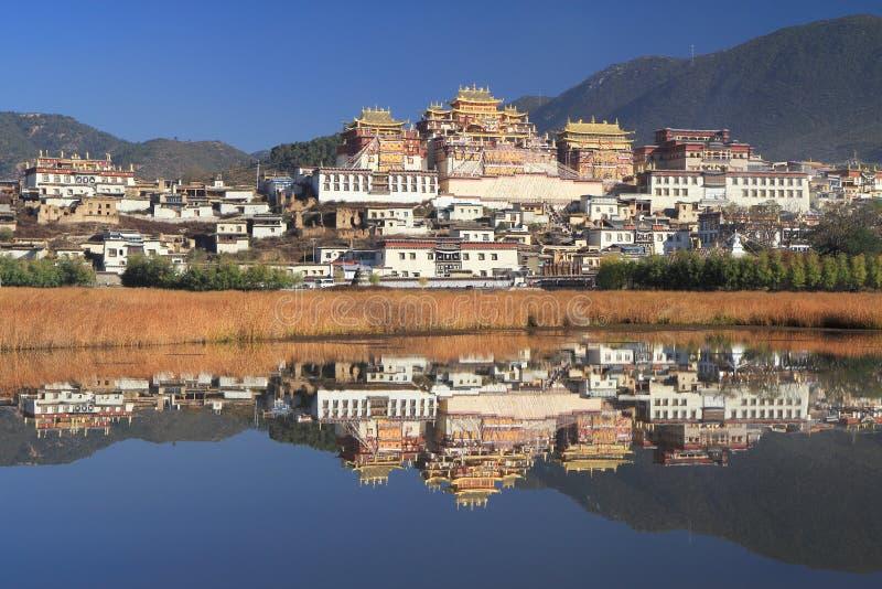 Song zan lin si monastery,China. Similar in Tibet royalty free stock photography