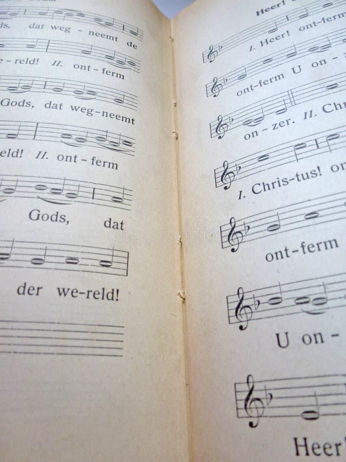 Songbook immagini stock libere da diritti