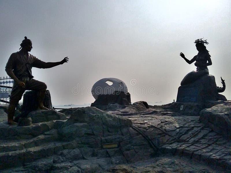 Songdo plaża zdjęcia royalty free