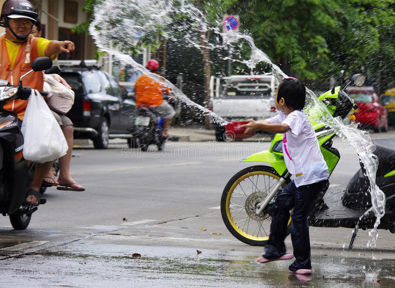 Download Songkarn Thai New Year - Water Festival Editorial Photo - Image: 24325856