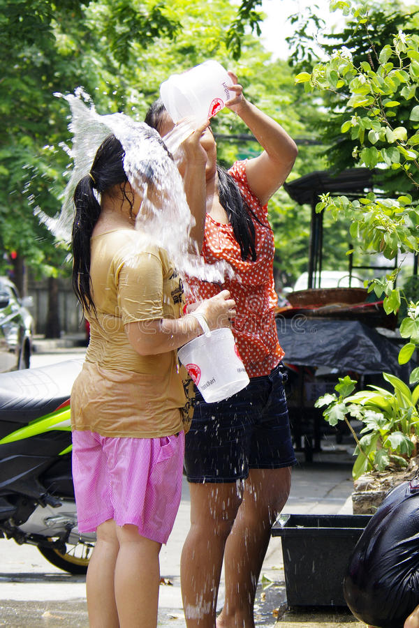 Download Songkarn Thai New Year - Water Festival Editorial Photo - Image: 24325886