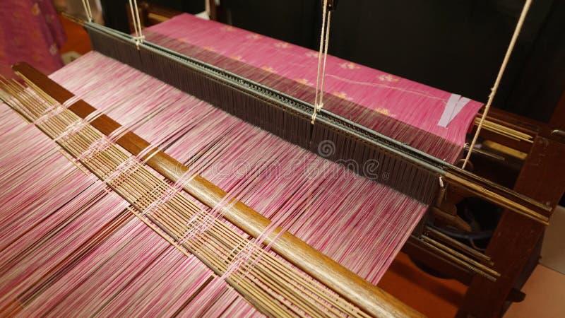 Songket tkactwa maszyna obraz stock