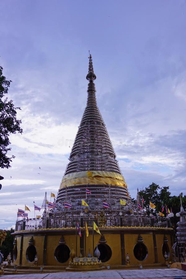 Songkra de temple photos stock