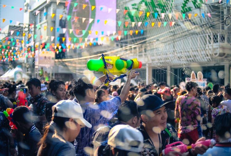 `-Songkran `, royaltyfri foto