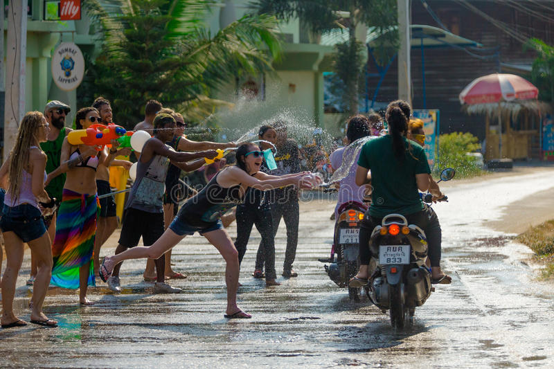 Songkran zdjęcia royalty free