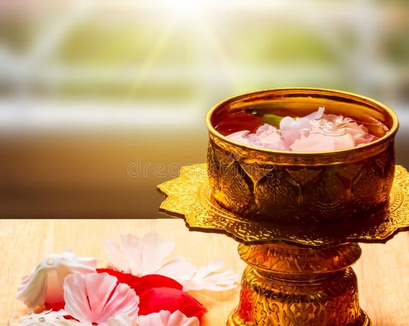 songkran av Thailand royaltyfri foto