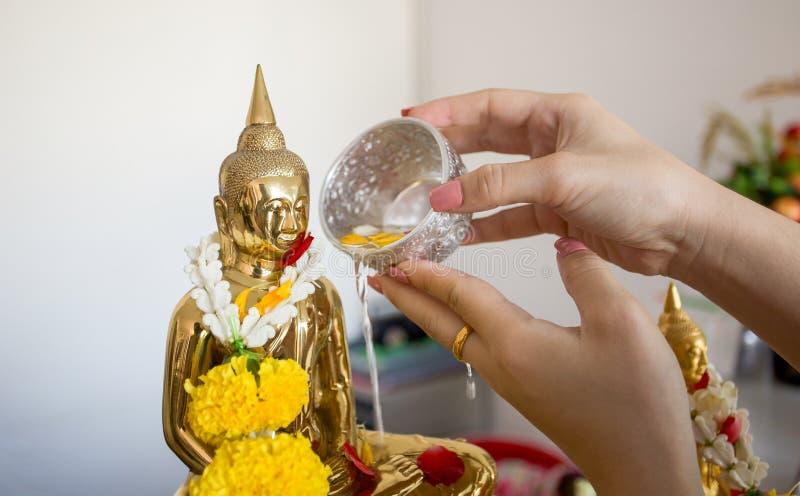 Songkran dzień, festiwal Thailand obrazy royalty free