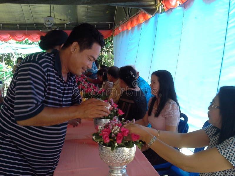 Songkran-Festival lizenzfreies stockfoto