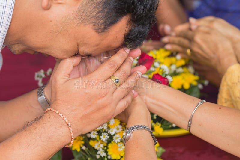 Songkran festival arkivbild