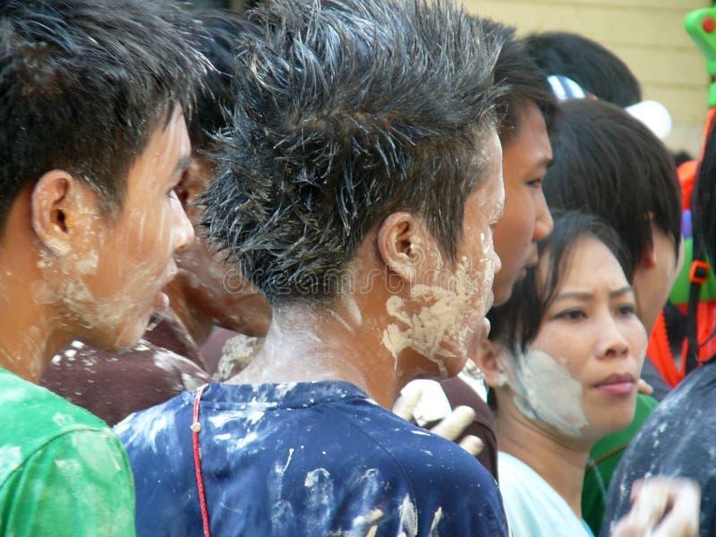 Songkran nouvelle année célébration 12-16 avril thaïlandais photos libres de droits