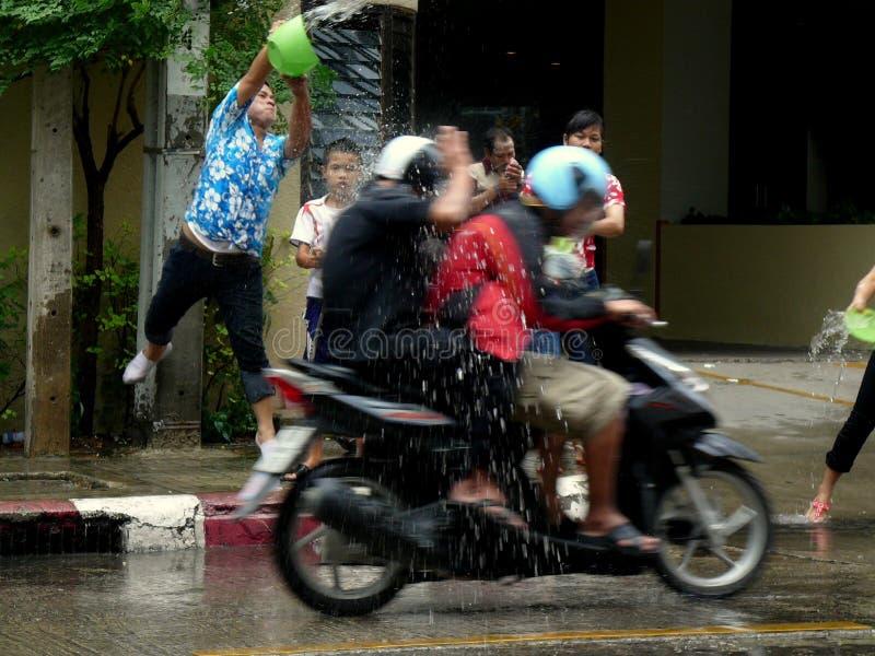 Songkran nouvelle année célébration 12-16 avril thaïlandais image libre de droits