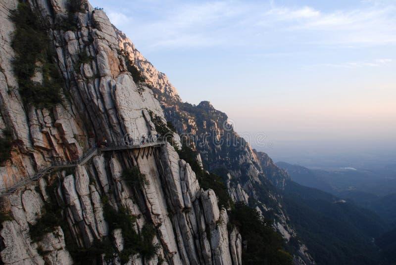 Songshan (il Monte Song) fotografie stock libere da diritti