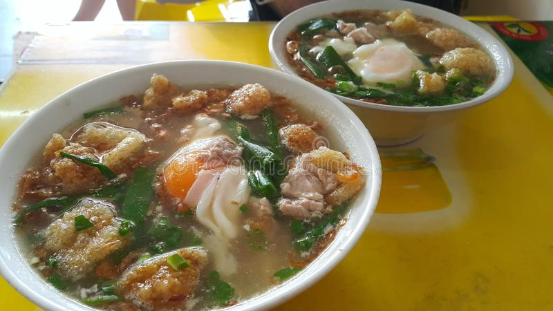 Songsui - soupe à porc photo stock