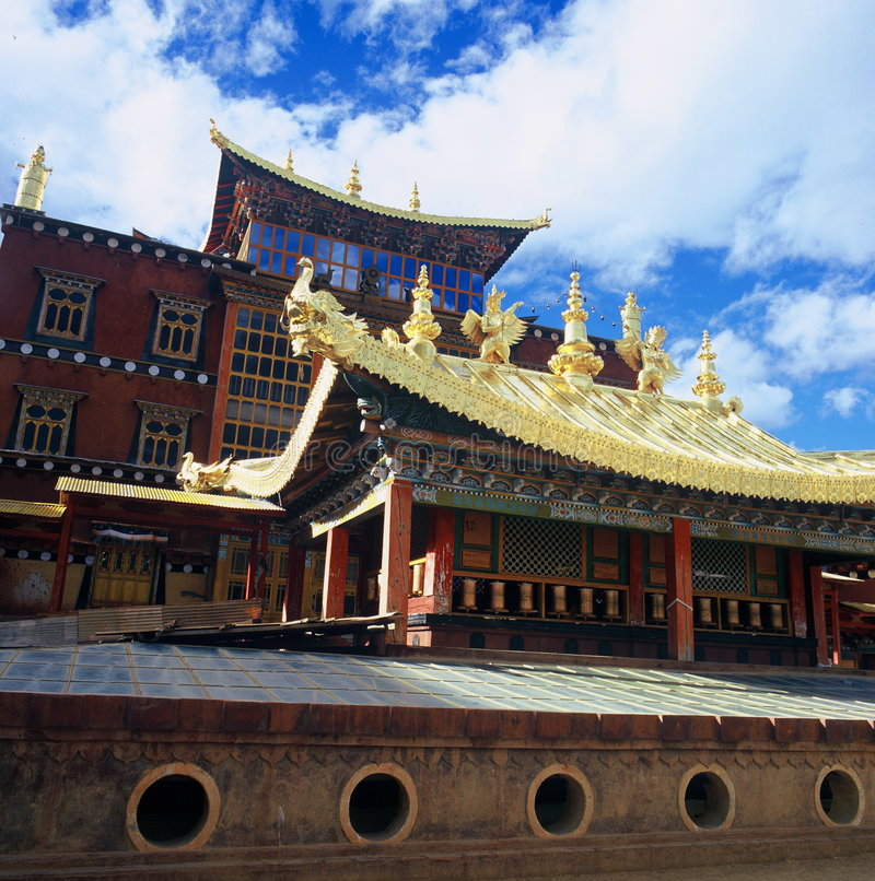 Download Songzanlin Monastery stock image. Image of belief, building - 4294577
