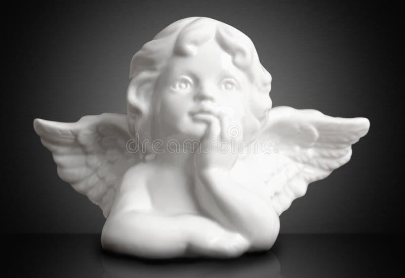 Sonhando o anjo imagem de stock royalty free