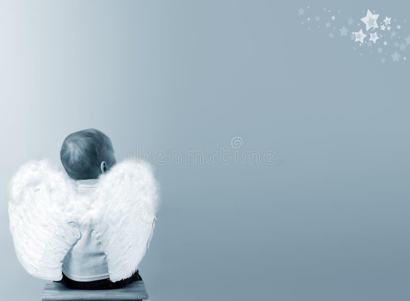 Sonhando o anjo fotos de stock