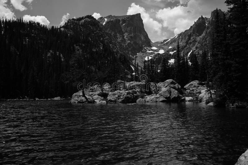 Sonhe o lago foto de stock royalty free