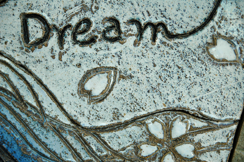 Sonho image stock