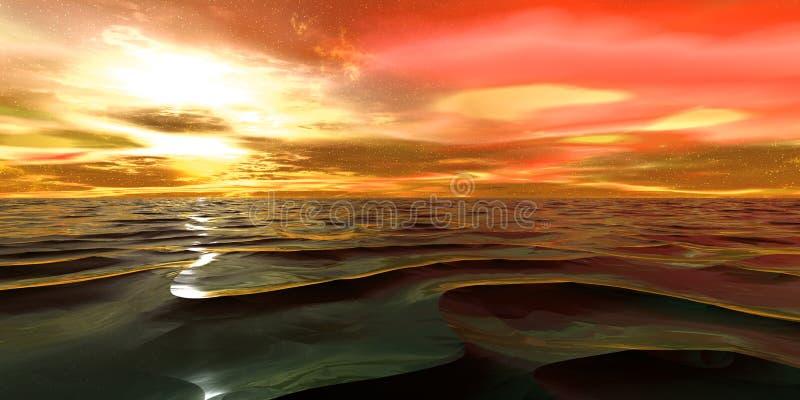 Download Sonho ilustração stock. Ilustração de paisagem, queimadura - 110849