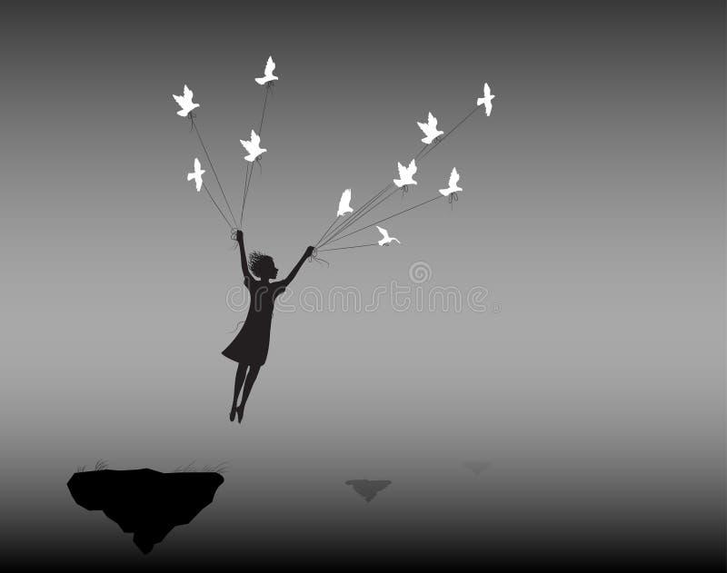 sonho ilustração stock