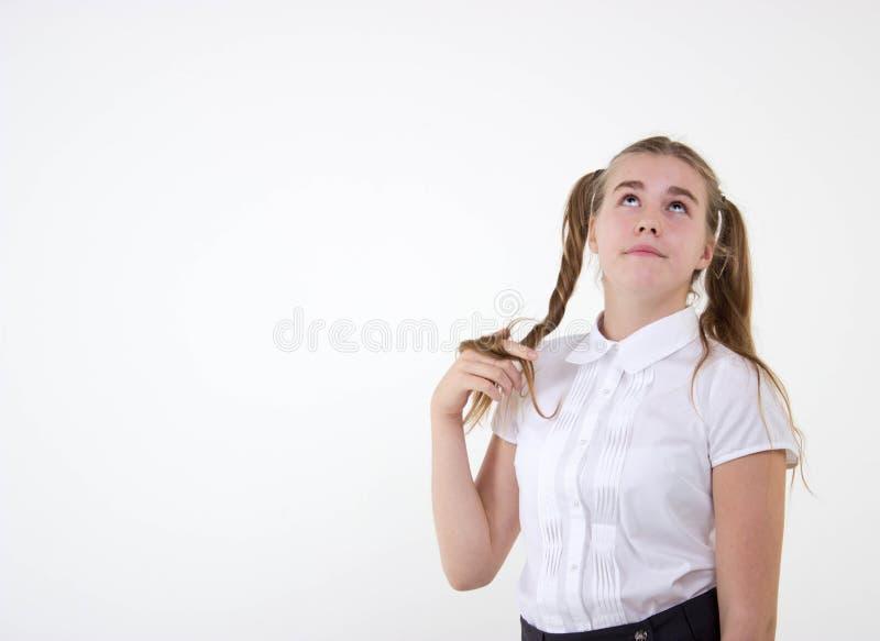 Sonho da estudante imagem de stock